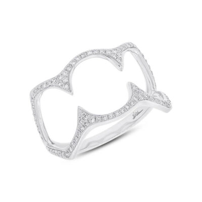 0.23ct 14k White Gold Diamond Ladys Ring SC55002499 400x400 - 0.23ct 14k White Gold Diamond Lady's Ring SC55002499