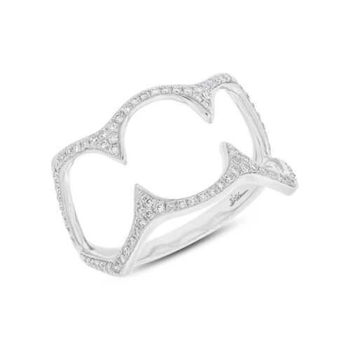 0.23ct 14k White Gold Diamond Ladys Ring SC55002499 500x500 - 0.23ct 14k White Gold Diamond Lady's Ring SC55002499