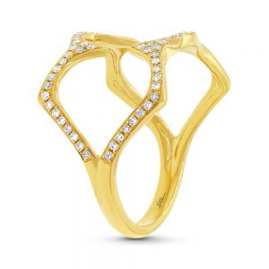 0.23ct 14k Yellow Gold Diamond Ladys Ring SC55002500 2 300x300 - Custom jewelry Dallas TX- for the love of your life