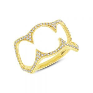 0.23ct 14k Yellow Gold Diamond Ladys Ring SC55002500 300x300 - Custom jewelry Dallas TX- for the love of your life