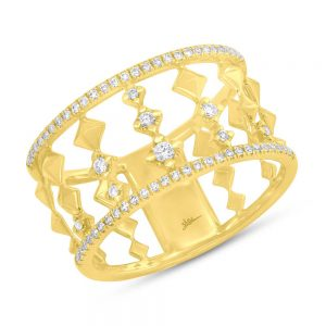 0.23ct 14k Yellow Gold Diamond Ladys Ring SC55003968 300x300 - 0.23ct 14k Yellow Gold Diamond Lady's Ring SC55003968