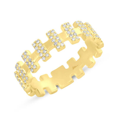 0.23ct 14k Yellow Gold Diamond Ladys Ring SC55006362 400x400 - 0.23ct 14k Yellow Gold Diamond Lady's Ring SC55006362