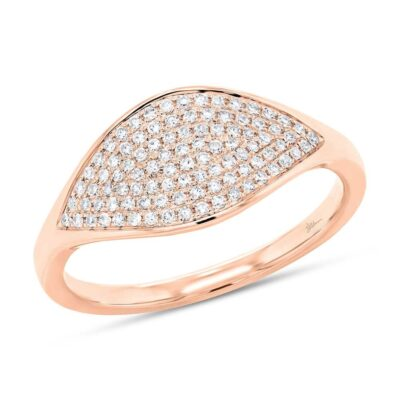 0.24ct 14k Rose Gold Diamond Pave Ladys Ring SC55006901 400x400 - 0.24ct 14k Rose Gold Diamond Pave Lady's Ring SC55006901