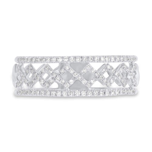 0.24ct 14k White Gold Diamond Ladys Ring SC55006206 1 500x500 - 0.24ct 14k White Gold Diamond Lady's Ring SC55006206