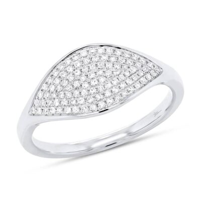 0.24ct 14k White Gold Diamond Pave Ladys Ring SC55006899 400x400 - 0.24ct 14k White Gold Diamond Pave Lady's Ring SC55006899