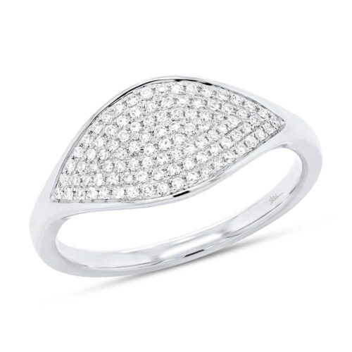0.24ct 14k White Gold Diamond Pave Ladys Ring SC55006899 500x500 - 0.24ct 14k White Gold Diamond Pave Lady's Ring SC55006899