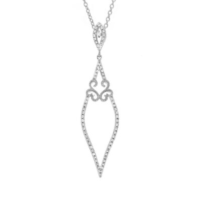 0.25ct 14k White Gold Diamond Pendant SC36213054 400x400 - 0.25ct 14k White Gold Diamond Pendant SC36213054