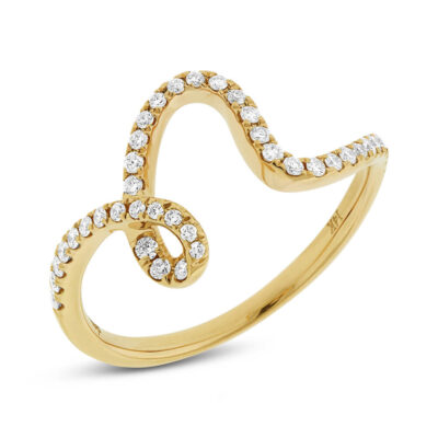 0.25ct 14k Yellow Gold Diamond Ladys Ring SC22003808 400x400 - 0.25ct 14k Yellow Gold Diamond Lady's Ring SC22003808