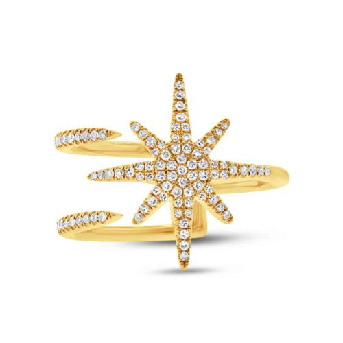 0.26ct 14k Yellow Gold Diamond Ladys Ring SC55002414 1 500x500 - 0.26ct 14k Yellow Gold Diamond Lady's Ring SC55002414