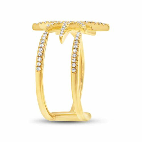 0.26ct 14k Yellow Gold Diamond Ladys Ring SC55002414 2 500x500 - 0.26ct 14k Yellow Gold Diamond Lady's Ring SC55002414