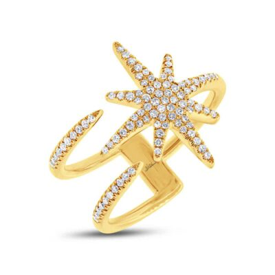 0.26ct 14k Yellow Gold Diamond Ladys Ring SC55002414 400x400 - 0.26ct 14k Yellow Gold Diamond Lady's Ring SC55002414