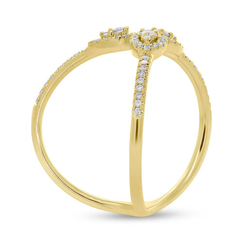 0.26ct 14k Yellow Gold Diamond Ladys Ring SC55005720 2 500x500 - 0.26ct 14k Yellow Gold Diamond Lady's Ring SC55005720