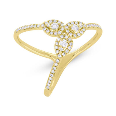 0.26ct 14k Yellow Gold Diamond Ladys Ring SC55005720 400x400 - 0.26ct 14k Yellow Gold Diamond Lady's Ring SC55005720