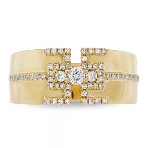 0.27ct 14k Yellow Gold Diamond Ladys Ring SC55004513 1 300x300 - 0.27ct 14k Yellow Gold Diamond Lady's Ring SC55004513 1