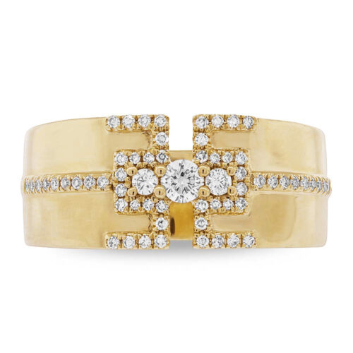 0.27ct 14k Yellow Gold Diamond Ladys Ring SC55004513 1 500x500 - 0.27ct 14k Yellow Gold Diamond Lady's Ring SC55004513