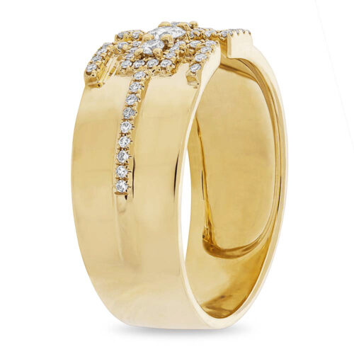 0.27ct 14k Yellow Gold Diamond Ladys Ring SC55004513 2 500x500 - 0.27ct 14k Yellow Gold Diamond Lady's Ring SC55004513