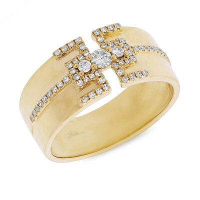 0.27ct 14k Yellow Gold Diamond Ladys Ring SC55004513 400x400 - 0.27ct 14k Yellow Gold Diamond Lady's Ring SC55004513
