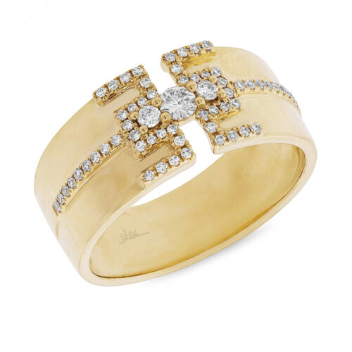 0.27ct 14k Yellow Gold Diamond Ladys Ring SC55004513 500x500 - 0.27ct 14k Yellow Gold Diamond Lady's Ring SC55004513