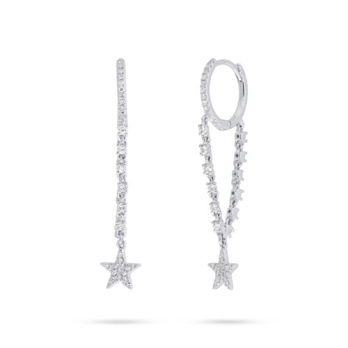 0.28ct 14k White Gold Diamond Star Earring SC55006708 500x500 - 0.28ct 14k White Gold Diamond Star Earring SC55006708