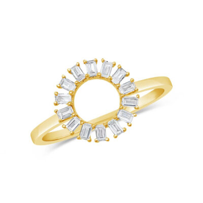 0.28ct 14k Yellow Gold Diamond Baguette Ring SC55007354 400x400 - 0.28ct 14k Yellow Gold Diamond Baguette Ring SC55007354