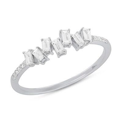 0.29ct 14k White Gold Diamond Baguette Ladys Ring SC36213784 400x400 - 0.29ct 14k White Gold Diamond Baguette Lady's Ring SC36213784