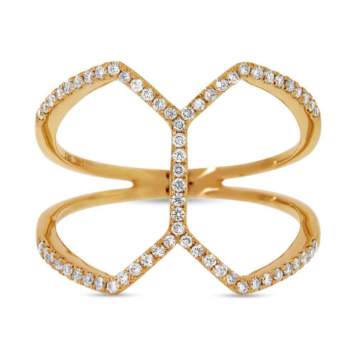 0.29ct 14k Yellow Gold Diamond Ladys Ring SC55001224 1 500x500 - 0.29ct 14k Yellow Gold Diamond Lady's Ring SC55001224