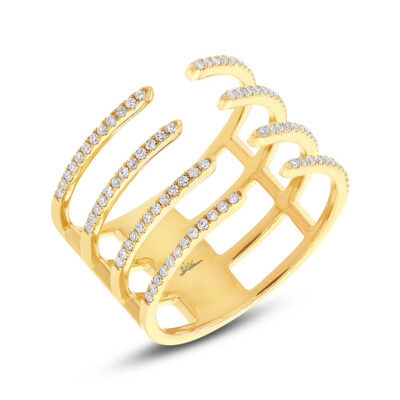 0.29ct 14k Yellow Gold Diamond Ladys Ring SC55002375 400x400 - 0.29ct 14k Yellow Gold Diamond Lady's Ring SC55002375
