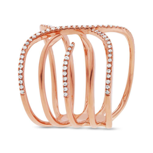 0.30ct 14k Rose Gold Diamond Ladys Ring SC55001733 2 500x500 - 0.30ct 14k Rose Gold Diamond Lady's Ring SC55001733