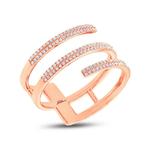 0.30ct 14k Rose Gold Diamond Ladys Ring SC55002412 500x500 - 0.30ct 14k Rose Gold Diamond Lady's Ring SC55002412