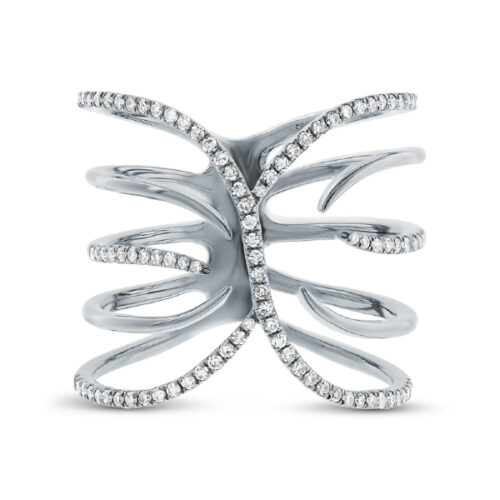 0.30ct 14k White Gold Diamond Ladys Ring SC55001731 1 500x500 - 0.30ct 14k White Gold Diamond Lady's Ring SC55001731