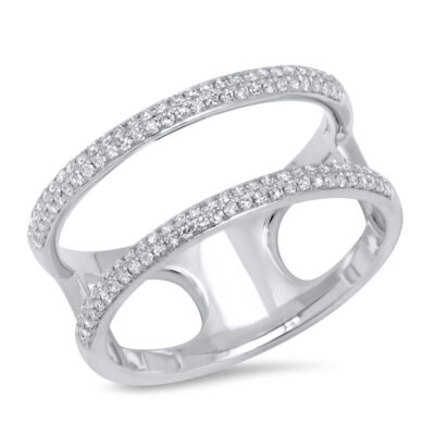 0.30ct 14k White Gold Diamond Ladys Ring SC55002845V2 400x400 - 0.30ct 14k White Gold Diamond Lady's Ring SC55002845V2