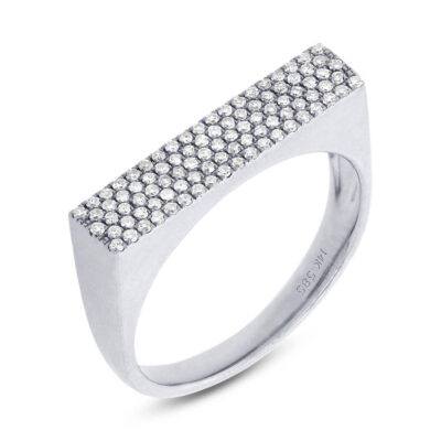 0.30ct 14k White Gold Diamond Pave Ladys Ring SC55001373 400x400 - 0.30ct 14k White Gold Diamond Pave Lady's Ring SC55001373