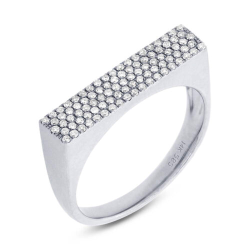 0.30ct 14k White Gold Diamond Pave Ladys Ring SC55001373 500x500 - 0.30ct 14k White Gold Diamond Pave Lady's Ring SC55001373