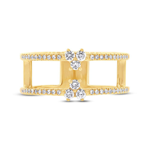 0.30ct 14k Yellow Gold Diamond Ladys Ring SC55002726 1 500x500 - 0.30ct 14k Yellow Gold Diamond Lady's Ring SC55002726