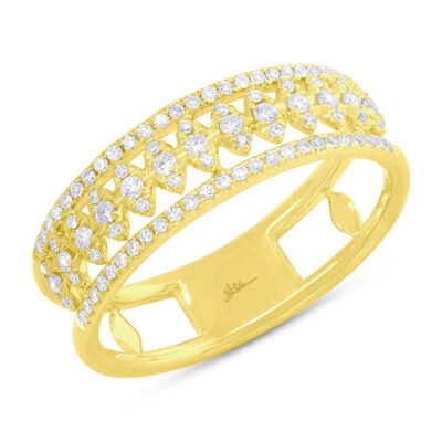 0.30ct 14k Yellow Gold Diamond Ladys Ring SC55006584 400x400 - 0.30ct 14k Yellow Gold Diamond Lady's Ring SC55006584