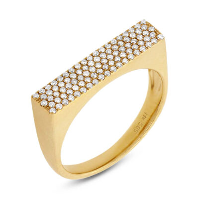 0.30ct 14k Yellow Gold Diamond Pave Ladys Ring SC55001312 400x400 - 0.30ct 14k Yellow Gold Diamond Pave Lady's Ring SC55001312
