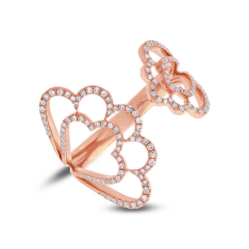 0.31ct 14k Rose Gold Diamond Ladys Ring SC55002311 500x500 - 0.31ct 14k Rose Gold Diamond Lady's Ring SC55002311