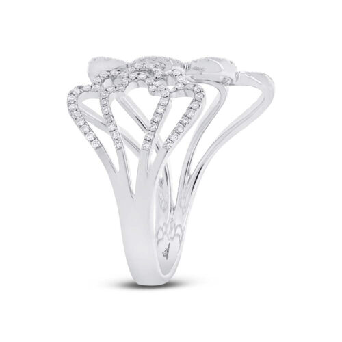 0.31ct 14k White Gold Diamond Ladys Ring SC55002309 2 500x500 - 0.31ct 14k White Gold Diamond Lady's Ring SC55002309
