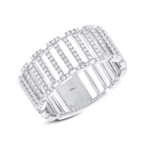 0.31ct 14k White Gold Diamond Ladys Ring SC55002392 500x500 - 0.31ct 14k White Gold Diamond Lady's Ring SC55002392