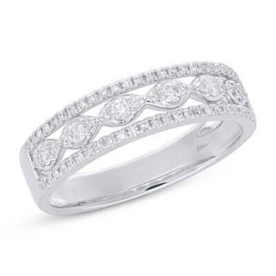 0.31ct 14k White Gold Diamond Ladys Ring SC55005602 400x400 - 0.31ct 14k White Gold Diamond Lady's Ring SC55005602