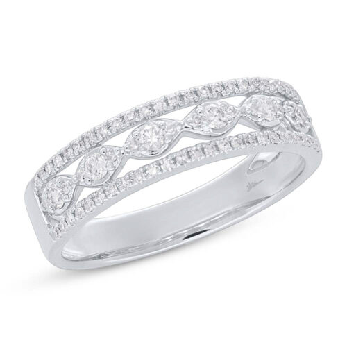 0.31ct 14k White Gold Diamond Ladys Ring SC55005602 500x500 - 0.31ct 14k White Gold Diamond Lady's Ring SC55005602