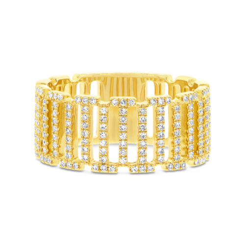 0.31ct 14k Yellow Gold Diamond Ladys Ring SC55002393 1 500x500 - 0.31ct 14k Yellow Gold Diamond Lady's Ring SC55002393