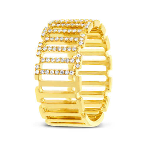 0.31ct 14k Yellow Gold Diamond Ladys Ring SC55002393 2 500x500 - 0.31ct 14k Yellow Gold Diamond Lady's Ring SC55002393