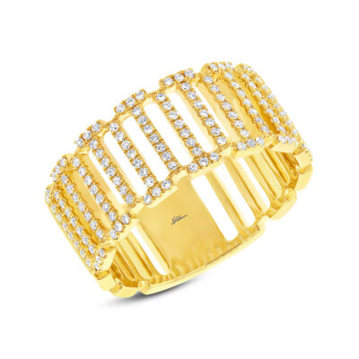 0.31ct 14k Yellow Gold Diamond Ladys Ring SC55002393 400x400 - 0.31ct 14k Yellow Gold Diamond Lady's Ring SC55002393