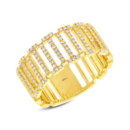 0.31ct 14k Yellow Gold Diamond Ladys Ring SC55002393 500x500 - 0.31ct 14k Yellow Gold Diamond Lady's Ring SC55002393