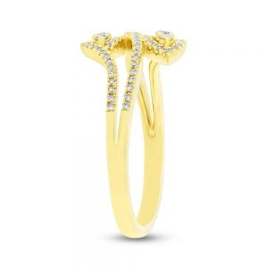 0.31ct 14k Yellow Gold Diamond Ladys Ring SC55004258 2 300x300 - 0.31ct 14k Yellow Gold Diamond Lady's Ring SC55004258 2