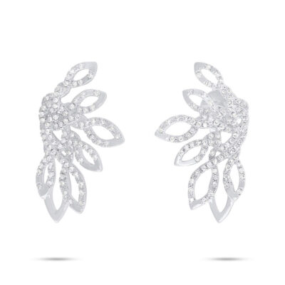 0.33ct 14k White Gold Diamond Earring SC55006723 400x400 - 0.33ct 14k White Gold Diamond Earring SC55006723