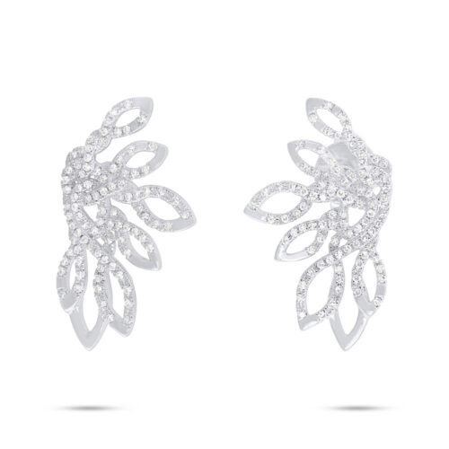 0.33ct 14k White Gold Diamond Earring SC55006723 500x500 - 0.33ct 14k White Gold Diamond Earring SC55006723