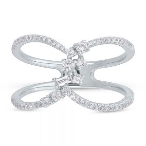 0.33ct 14k White Gold Diamond Ladys Ring SC36213747 1 300x300 - 0.33ct 14k White Gold Diamond Lady's Ring SC36213747 1