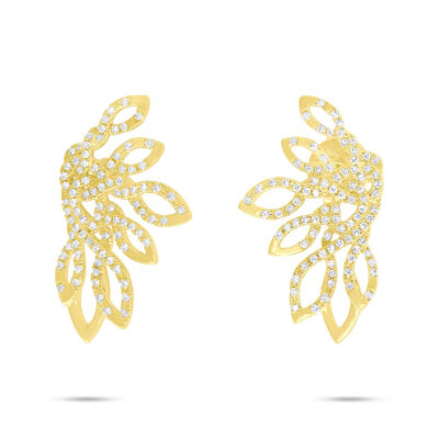 0.33ct 14k Yellow Gold Diamond Earring SC55006724 400x400 - 0.33ct 14k Yellow Gold Diamond Earring SC55006724